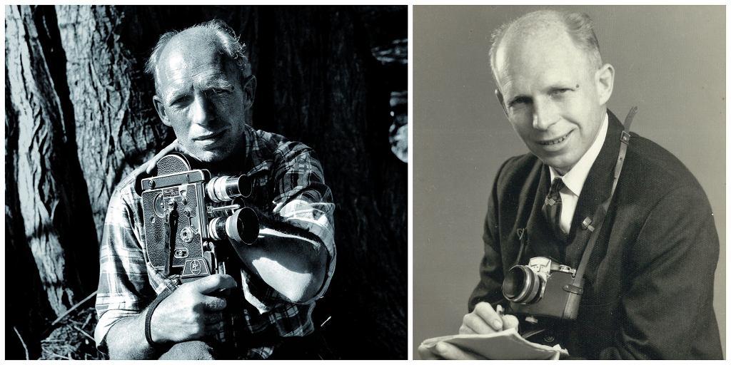 Zanim został podróżnikiem, Tony Halik pracował jako budowniczy mostów i dziennikarz (fot. archiwum prywatne rodziny Halików)