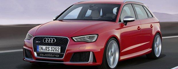 Audi RS3 Sportback   Grizli w owczej skórze