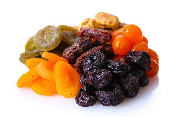 błonnik - suszone owoce