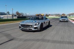 Mercedes-AMG GT S i C 63 S Estate Safety Car | Nowa flota bezpieczeństwa w F1