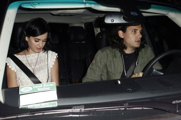 West Hollywood, CA - Singers Katy Perry and John Mayer are seen leaving Chateau Marmont together in West Hollywood, CA.      AKM-GSI          August 1, 2012      To License These Photos, Please Contact :    Steve Ginsburg  (310) 505-8447  (323) 4239397  steve@ginsburgspalyinc.com  sales@ginsburgspalyinc.com    or    Keith Stockwell  (310) 261-8649  (323) 325-8055   keith@ginsburgspalyinc.com  ginsburgspalyinc@gmail.com *** Local Caption ***  Katy Perry and John Mayer