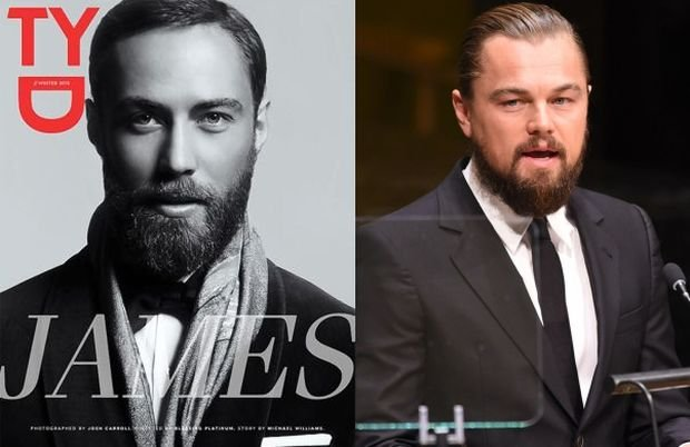 James Middleton, Leonardo DiCaprio